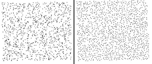 randomized dots