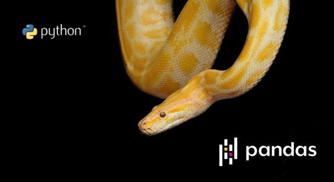 python pandas